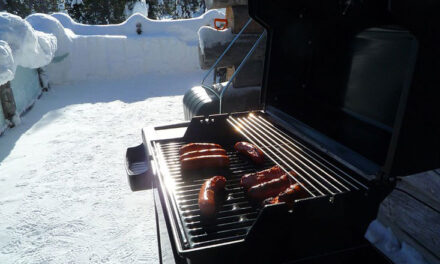 Barbecue in the Winter! Are You Nuts?