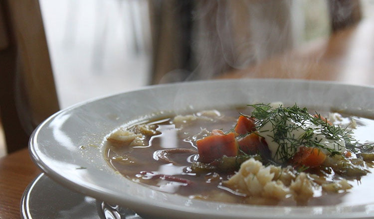 Fish soups to warm the stomach