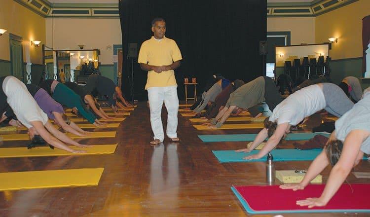 The philosophy behind yoga