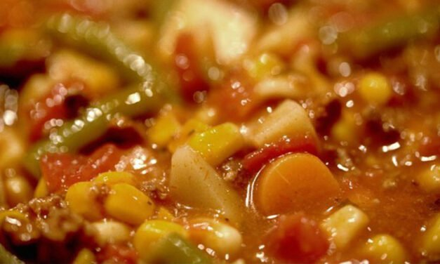 Hearty Burger Soup