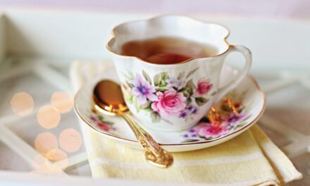 Sipping tea for a good cause