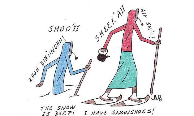 Let's learn Gwich'in: Sreendit (Spring)