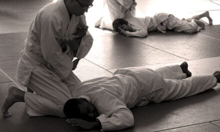 Practising Aikido, the 'Art of Peace'