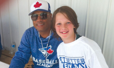 George Arcand has been hitting home runs for over 30 years