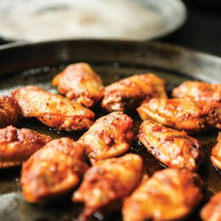 Canuck Honey and Garlic Wings