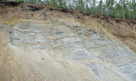 The white channel gravels