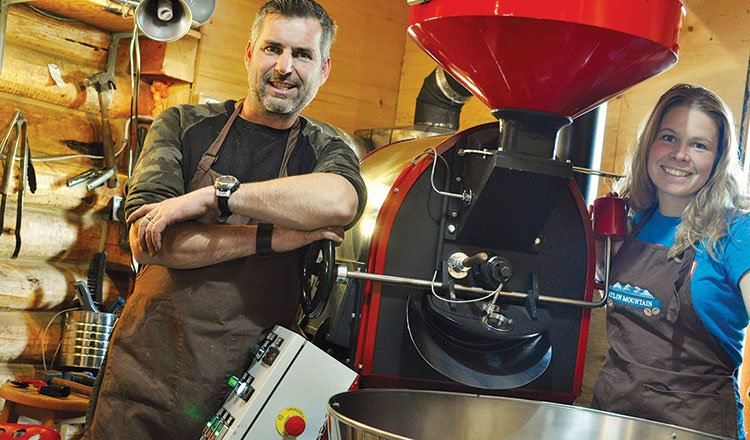 Atlin coffee is burning up the market