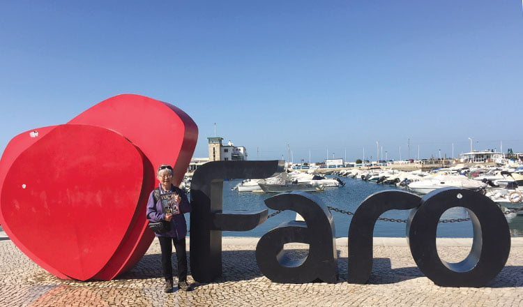 When in Faro… Portugal
