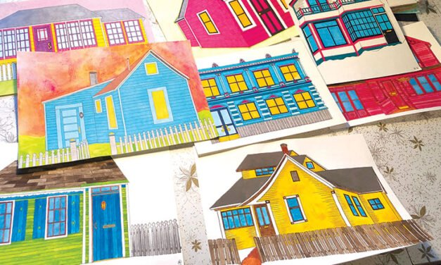 Erin Dixon – Artist documents the vintage, the eclectic and the historical houses of Whitehorse and Dawson