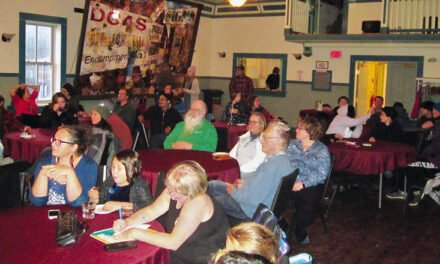 Dawson entertains itself at monthly coffee houses