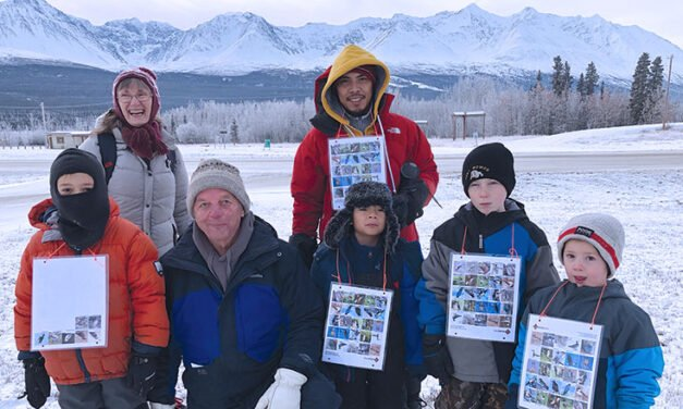 Christmas bird counts are fun for kids too