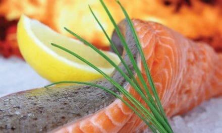 Salmon, twice as good