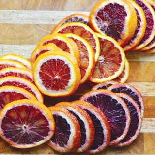 Candied Blood Oranges