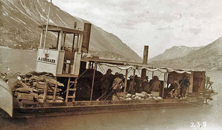 The fastest lady in the Klondike Gold Rush