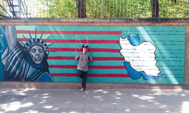 One woman's tale travelling solo in Iran