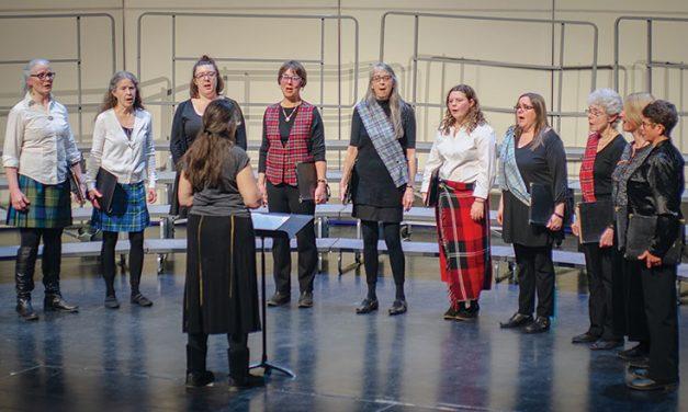 Choirs celebrate Celtic music