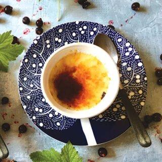 Black Currant Crème Brulée