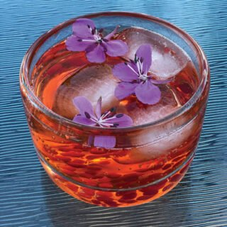 Aperol Spritz with Fireweed