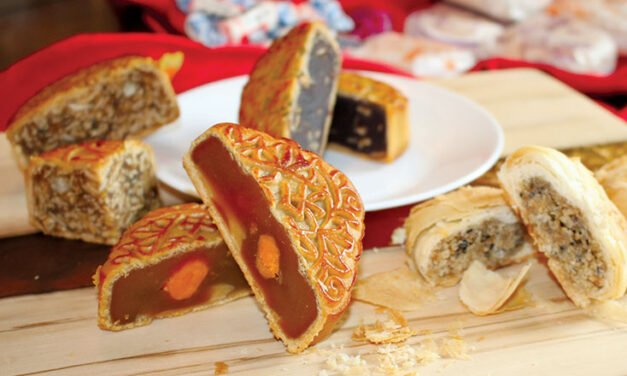 Thanksgiving meets Mid-Autumn Festival