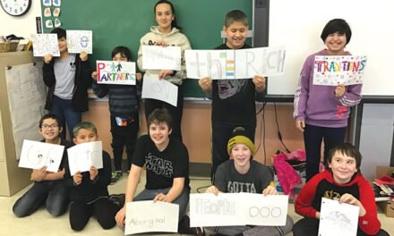 Teslin students win national award
