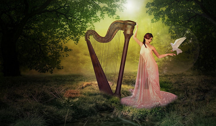 Pulling at your harp strings