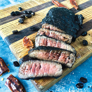 Coffee Rub for Moose, Bison or Beef Steak