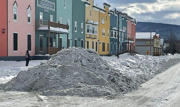 Spring clearances in Dawson