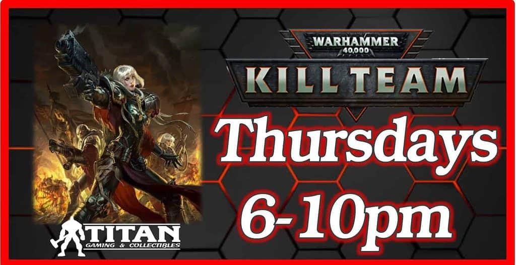 Warhammer kill team league