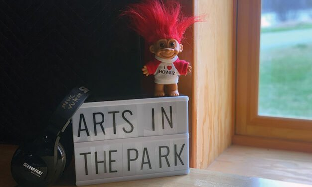 Arts in the Park is back on the air
