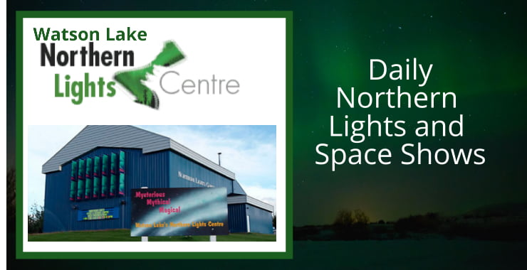 Northern Lights Centre Daily Shows